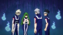Team Tetsutetsu eliminated