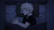 Katsuki sleeps