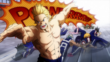 Class 1-A vs. Mirio Togata (Anime)