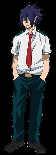 Tamaki Amajiki Diseño Anime