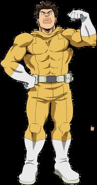 Rikidou Satou Full Body Hero Costume