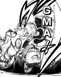 Ochaco Uraraka uses GMA on Neito Monoma
