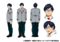 Tenya Iida TV Animation Design Sheet