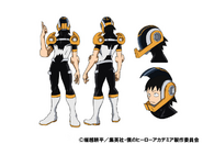 Hanta Sero Costume TV Animation Design Sheet