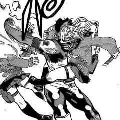 Himiko ataca a Lock Rock.