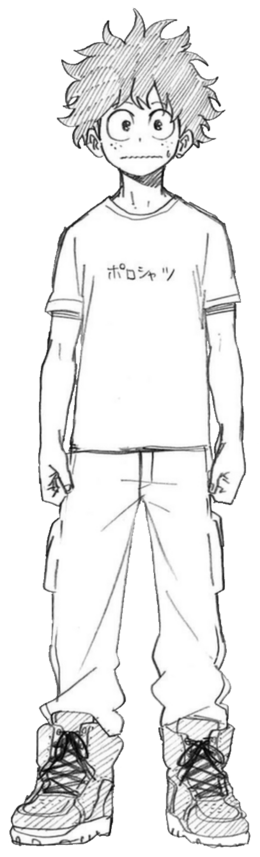 Izuku Midoriya civil