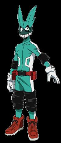File:Izuku Midoriya First Hero Costume Full Body Anime.png