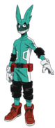 Izuku Midoriya First Hero Costume Full Body Anime