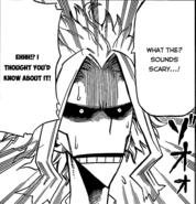 All Might's reaction