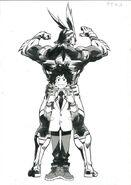 Izuku Midoriya and All Might Sketch