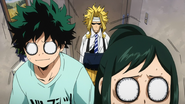Izuku and Inko are nervous because of All Might
