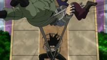 Aizawa vs villains 2