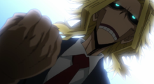 All Might Declaration Anime