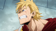 Mirio struggles from his wounds
