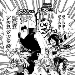 Asistentes de Horikoshi.