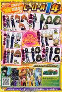 Class 1-B Girls Anime Design Jump Magazine