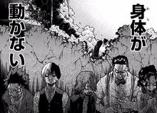 Izuku, Shoto, Eijiro, Tenya and Momo in fear-0