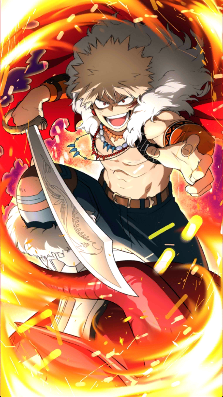 Katsuki Bakugo Character Art 4 Smash Tap