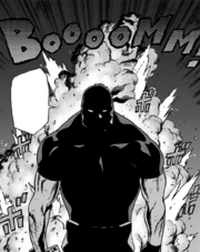 Knuckleduster doesn't look at explosions
