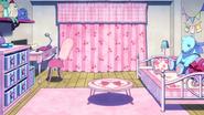 Toru Hagakure's dorm room