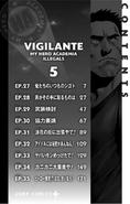 Volume 5 (Vigilantes) Table of Contents