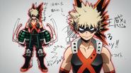 Katsuki costume design