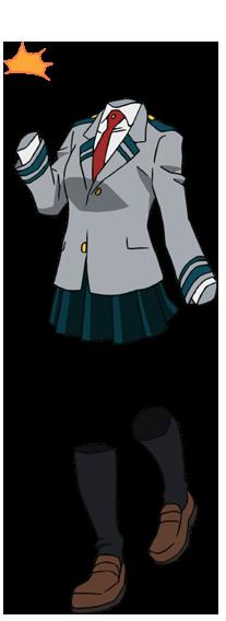 Tooru Hagakure Full Body Uniform