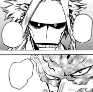 All Might's advice to Endeavor