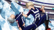 Katsuki molesto por victoria mediocre
