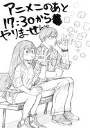 Tenya and Tsuyu Sketch