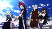 Eijiro and Tetsutetsu shake hands