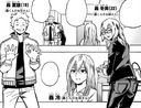 Fuyumi and Natsuo visiting their mother