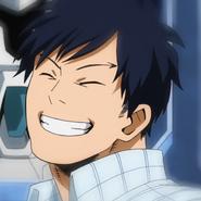 Tensei smiling
