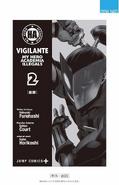 Volume 2 (Vigilantes) Extra Page 1