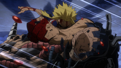 All Might golpea a All For One