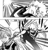 Katsuki takes back the points