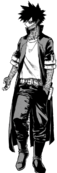 Dabi Full Villain Costume Manga