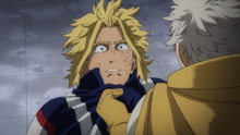 Gran Torino scolds All Might