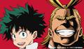 Izuku and All Might Colored Profile