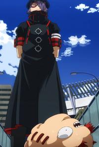 Seiji stands over Eijiro