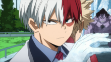Shoto Todoroki faces Wolfram's Minions