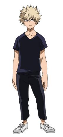 Katsuki Bakugo casual