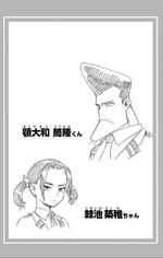 Volume 19 Tsutsutaka and Chikuchi Sketch