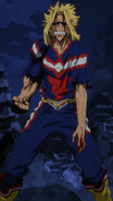 All Might hybrid form
