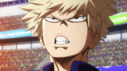 Katsuki determined face