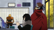 Snipe talks to Aizawa