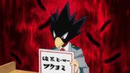 Tokoyami chooses hero name