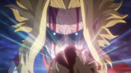 All Might's resolve