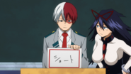 Shoto Todoroki chooses his hero name