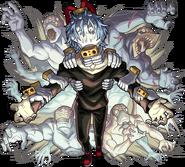 Tomura Shigaraki and Nomu Artwork Monster Strike